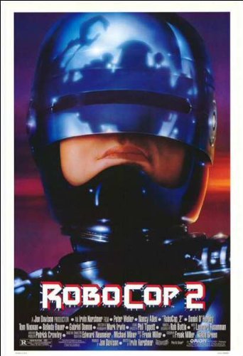 Robocop 2 Movie Poster