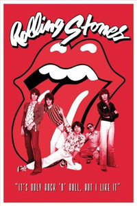 "Pyramid International ""It's only rock n roll Rolling Stones"" Maxi Poster, Multi-Colour, 61 x 91.5 x 1.3 cm"