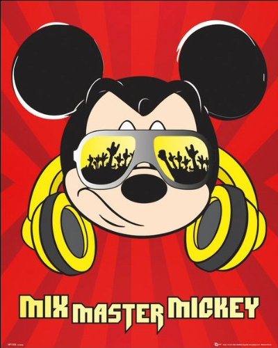 Mickey Mouse Mixmaster Mini Poster