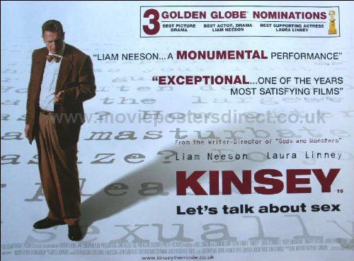 Kinsey Movie Poster