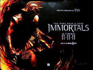 Immortals Movie Poster