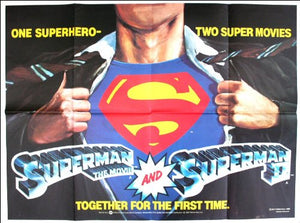 Superman I / Superman II Movie Poster
