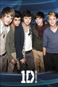 One Direction (Blue) - Maxi Poster - 61cm x 91.5cm