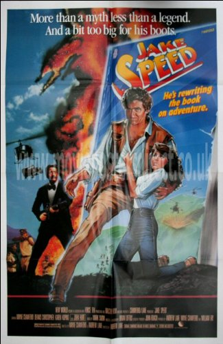 Jake Speed Movie Poster