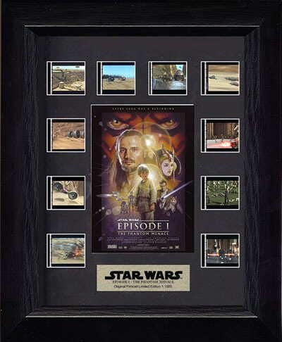 The Phantom Menace Limited Edition Mini Montage