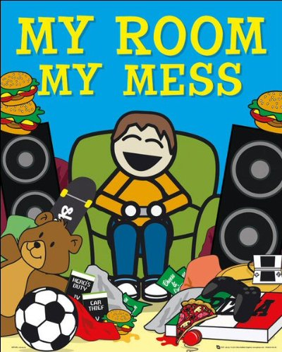 My Room My Mess Mini Poster 40x50cm
