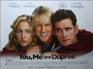 You Me and Dupree Movie Poster