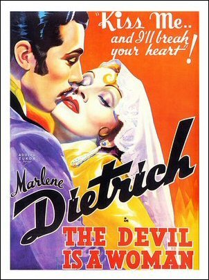 The Devil Is a Woman Art Print Poster
