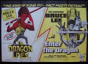 The Dragon Lives / Enter The Dragon Movie Poster