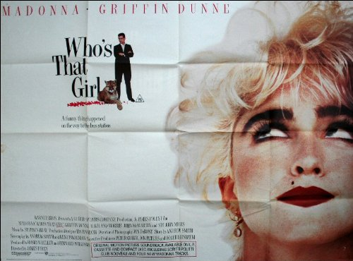 Who's That Girl Movie Poster