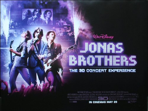 Jonas Brothers Movie Poster