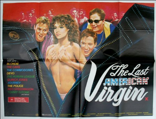 The Last American Virgin Movie Poster