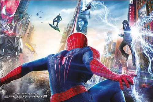 The Amazing Spider-man 2 Battle Maxi Poster, Multi-Colour