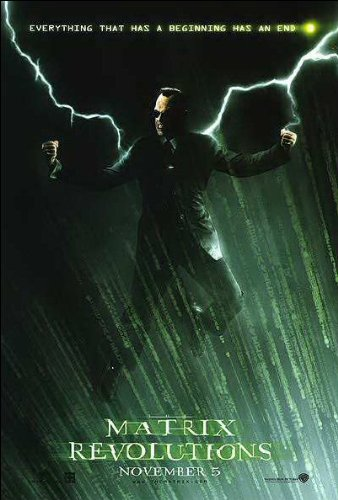 Matrix Revolutions Movie Poster
