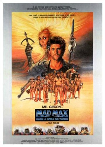 Mad Max: Beyond Thunderdome - Spanish Movie Poster