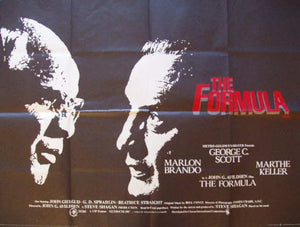 The Formula Movie Poster