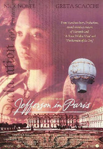 Jefferson in Paris Movie Poster