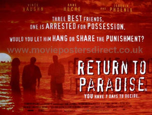 Return to Paradise Movie Poster