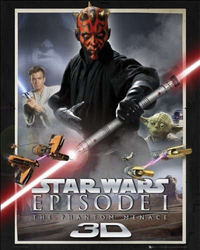 Star Wars Episode 1 (One Sheet) - Mini Poster - 40cm x 50cm