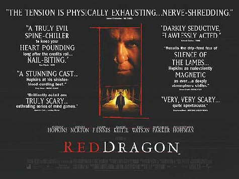 Red Dragon Movie Poster