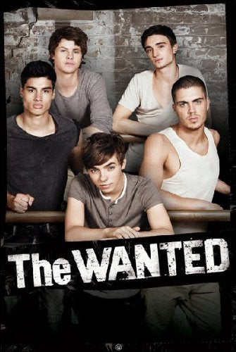 The Wanted (Bravado) - Maxi Poster - 61cm x 91.5cm