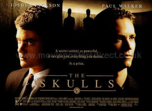 The Skulls Movie Poster