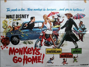 Monkeys Go Home Movie Poster