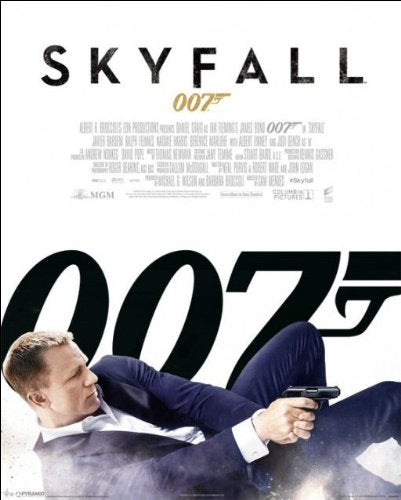 James Bond (Skyfall One Sheet White) - Mini Poster - 40cm x 50cm