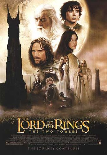 The Two Towers Movie Poster