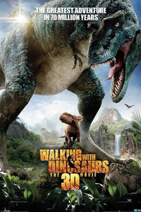Walking With Dinosaurs One Sheet Maxi Poster, Multi-Colour