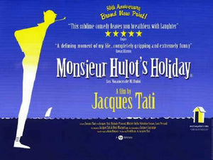 Monsieur Hulot's Holiday Movie Poster