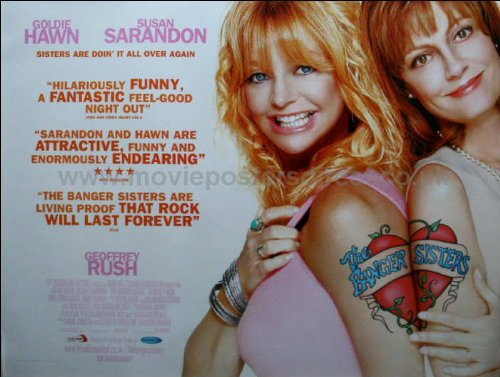 The Banger Sisters Movie Poster