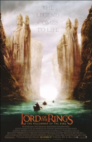The Fellowship of the Ring Movie Poster