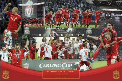 Liverpool (Cup Winners 2012) - Maxi Poster - 61cm x 91.5cm