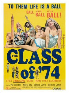 The Class of 74 Art Print Poster