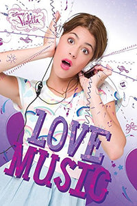 "Violetta ""Love Music"" Maxi Poster, Multi-Colour"