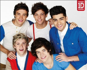 One Direction (Red, White And Blue) - Mini Poster - 40cm x 50cm