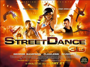 StreetDance 3D Movie Poster