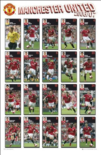 Manchester United 06 - 07 - Maxi Poster - 61cm x 91.5cm