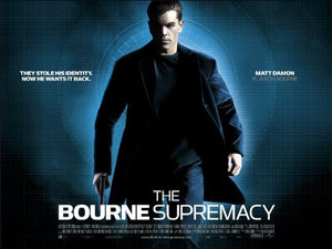 The Bourne Supremacy Movie Poster