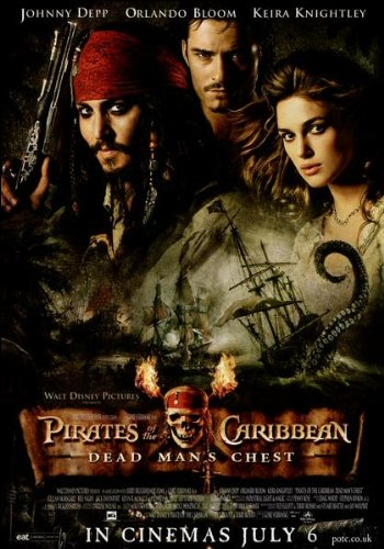 Pirates of the Caribbean 2 Original Mini Poster