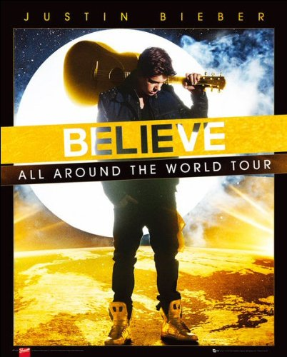Justin Bieber (World Tour) - Mini Poster - 40cm x 50cm