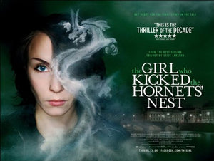 The Girl Who Kicked The Hornets Nest Movie Poster