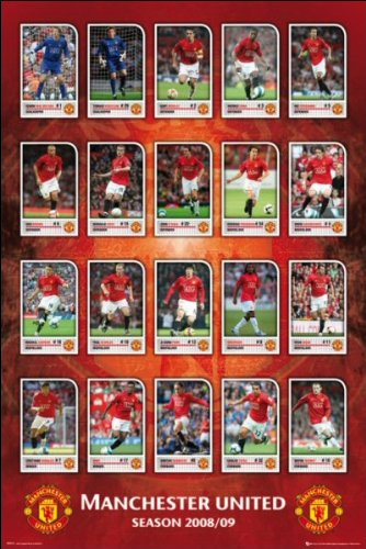 Manchester United 08 - 09 - Maxi Poster - 61cm x 91.5cm