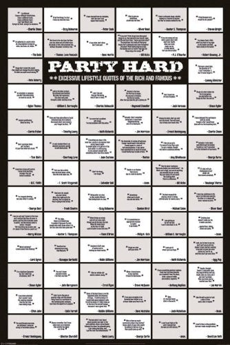 Party Hard - Quotes