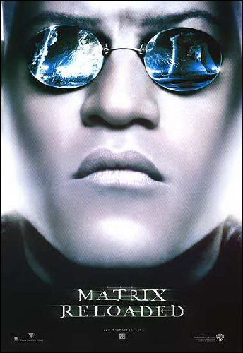 Matrix Reloaded Movie Poster