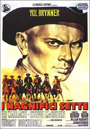 The Maginficent Seven Movie Poster