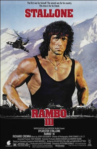 Rambo III Movie Poster