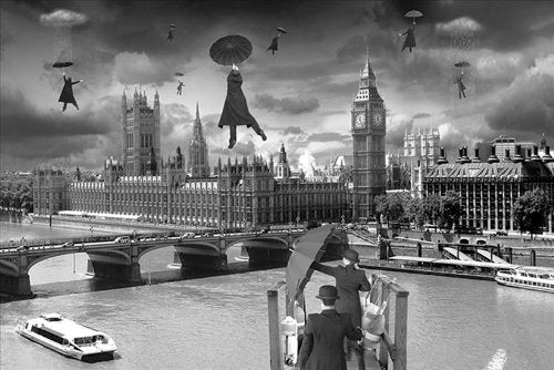 Thomas Barbey Blown Away Maxi Poster, Multi-Colour