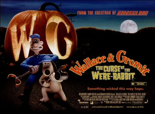 The Curse of the Were-Rabbit Movie Poster